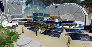 Workshop in Skylabs in Second Life