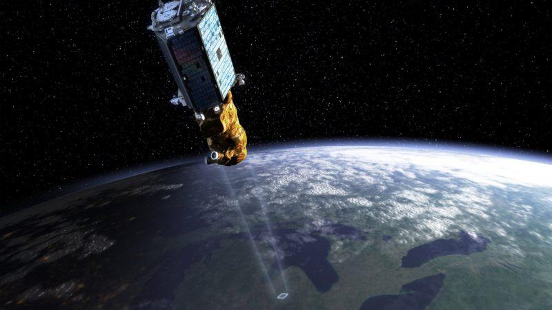 SSTL-300S1 Illustrations for Surrey Satellite Technology