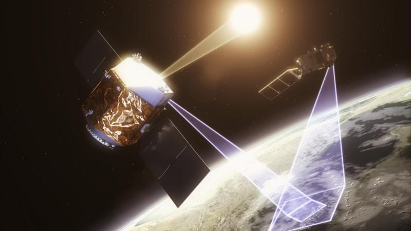 Illustrations of NPL's TRUTHS satellite