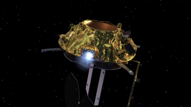 GMP-A satellite animation for SSTL