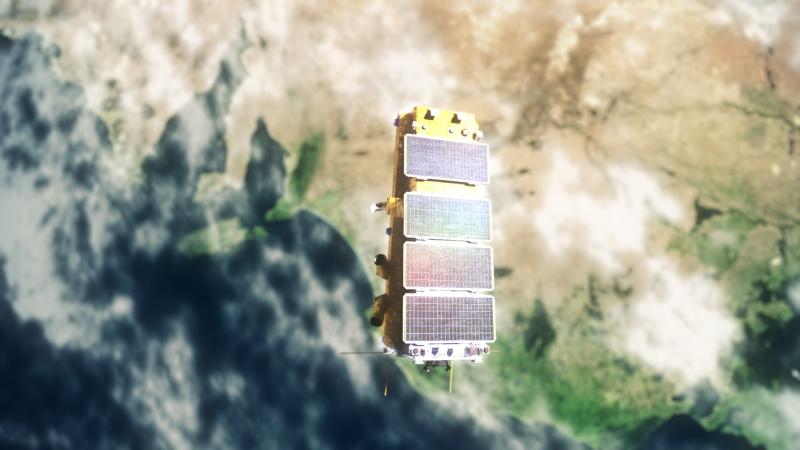 NovaSAR animation for SSTL