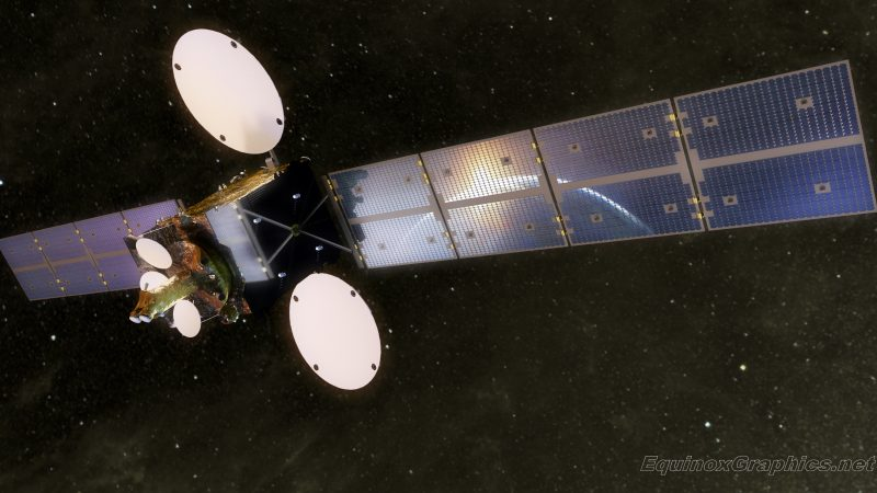 Illustrations for Surrey Satellite Technology